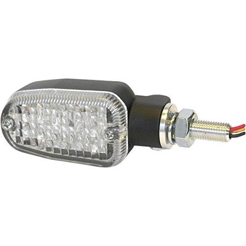 K&S Technologies Dot Led Marker Lights - 3 Wires - Black/Clear 26-7705Bk