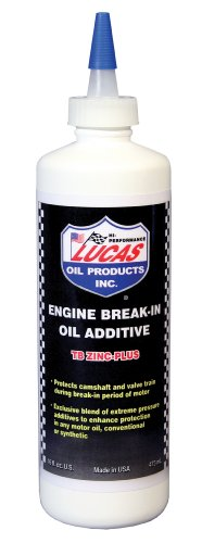 Lucas Oil 10063 Engine Break-In Oil Additive - 16 oz.