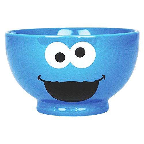 Sesamo Apriti - Ciotola per cereali del Cookie Monster - Idea regalo fantastica - Con licenza - 500 ml