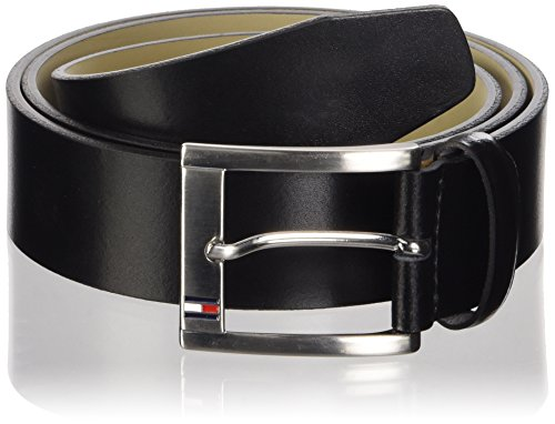 Calvin Klein - Cintura Trenton Belt 3.5 Adj, Uomo, Nero (Black), 105