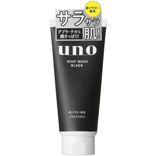 Shiseido Japan UNO Whip Wash Black Cleanser 130g