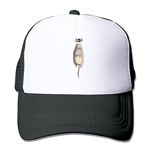 動物 可愛い アニメ 映画 帽子 メッシュ帽子 ブラック