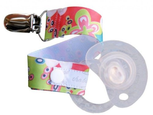 The Binkmeister Pacifier Clip with Snap Closure (No Velcro!) - 1