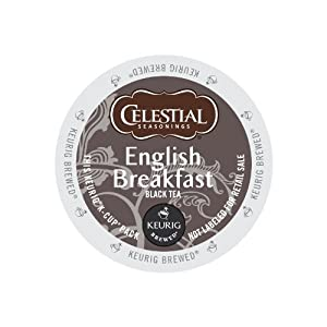 Keurig, Celestial Seasonings, English Breakfast Tea, K-Cup packs, 72 Count