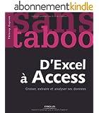 D'Excel à Access : Croiser, extraire et analyser ses données