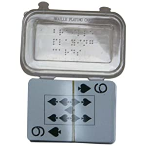 Braille Playing Cards; Plastic