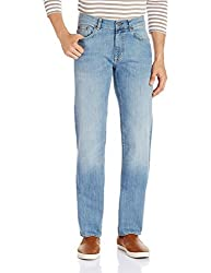 Gant Men's Straight Fit Jeans (8907036769500_GMJFB0004_30W x 32L_Blue)