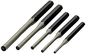 ATD Tools 762 5-Piece Roll-Pin Punch Set