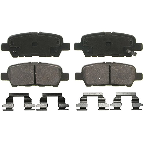 Wagner QuickStop ZD1393 Ceramic Disc Pad Set, Rear (Nissan Murano Rear Brake Pads compare prices)