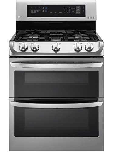 LG-LDG4313ST-30-Stainless-Steel-Gas-Double-Oven-Range-Convection