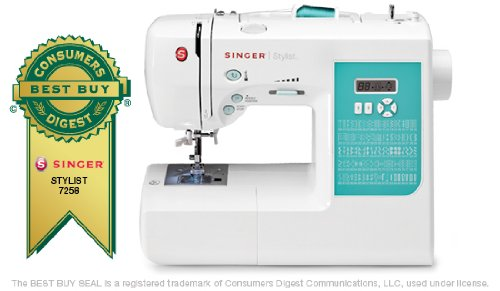 Singer Sewing Singer Stylist 7258 - Singer Sewing - 7258.CL at Sears.com
