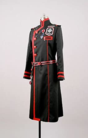 CosplayerWorld Cosplay Costume Size S D.Gray-man Kanda YuuJapanese Anime Manga Convention Dress Suit Cosplay Tailor Made