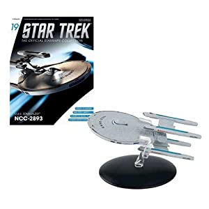 Star Trek Starships Figurine Collection Magazine #19 U.s.s Stargazer Ncc-2893