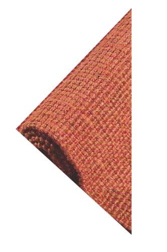Handwoven 100% Natural Jute 4'x6' Reversable Terra Cotta Area Rug