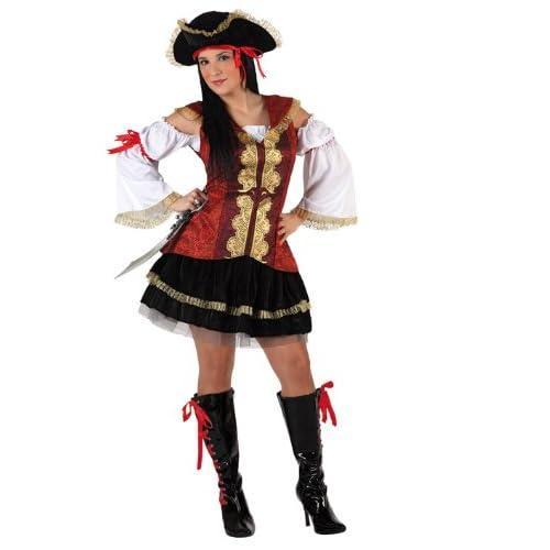 Adult's Women's Pirate Fancy Dress<br />