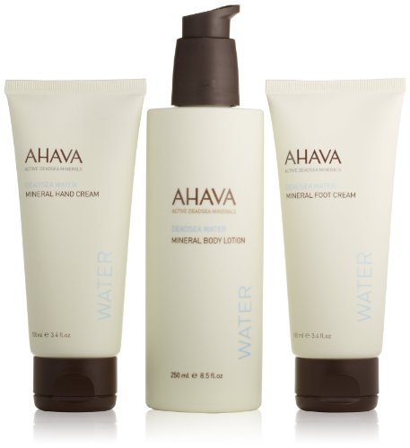 AHAVA Dead Sea Water Body Trio Gift Set