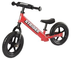 Strider ST-4 No-Pedal Balance Bike: Red