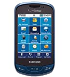 Verizon Samsung Brightside SCH-U380 (No Contract) - CDMA Black/Sapphire Color 3MP QWERTY Touch Cell Phone SCHU380 U380 (Sapphire Blue)