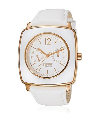 Esprit Collection Reloj de cuarzo Woman Tyche White Rosegold 40 mm