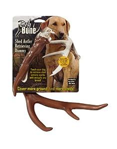 Dog Bone Shed Dummy Retrieving Antler, Brown by Dog Bone