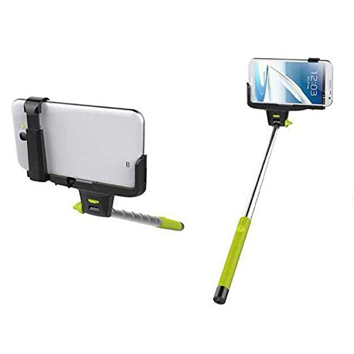 Sfr Extendable Self Portrait Selfie Handheld Stick Monopod With Smartphone Adajustable Holder,Lightweight Monopod,Extendable Camera Selfie Self Portrait Shooting Pole Adjustable Handheld Monopod Mount Holder For Iphone 5S 5C 5 4S 4 Htc One Lg Sony Samsung