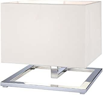 George Kovacs Rectangle Shade Chrome Table Lamp - - Amazon.com