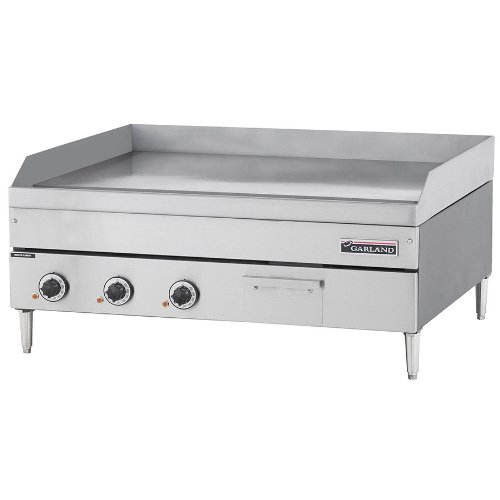 """240V 3 Phase Garland E24-36G 36"""" Heavy Duty Electric Countertop Griddle"""