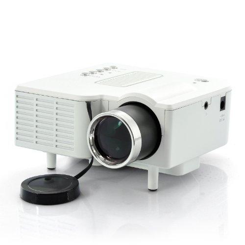 "Mini Led Video Projector ""Portimax Hdmi"" - 320X240, 300:1, Vga And Hdmi Port front-485740"