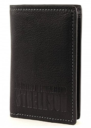 Strellson Billfold V9 22/30/08246-900, Portafoglio uomo - Nero