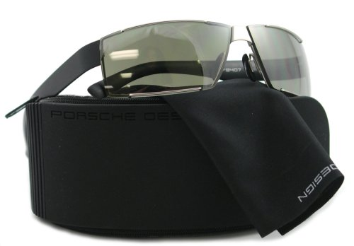 277fed442140 Porsche Men Sunglasses: Porsche Sunglasses P 8407 BLACK E P8407