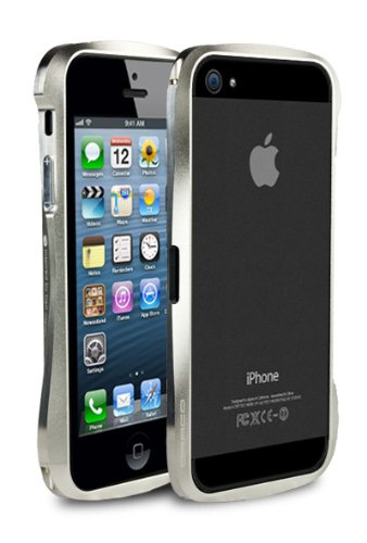 Great Price Draco V Aluminum Bumper for iPhone 5 - Astro Silver