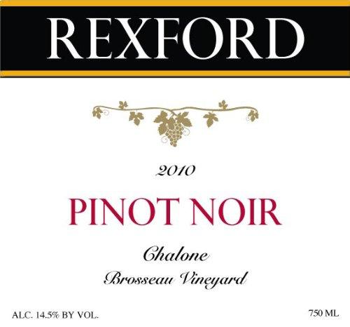 2010 Rexford Winery Pinot Noir Chalone, Brosseau Vineyard 750 Ml