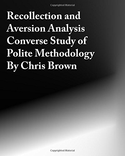 Recollection And Aversion Analysis: Converse Study Of Polite Methodology PDF