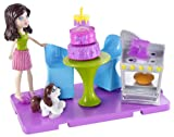 Polly Pocket Stick/ Play Kerstie Baking Party