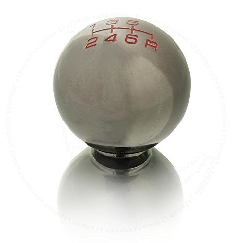LT Sport SN#100000000758-216 For Jeep 6 Speed Gunmetal Aluminum Manual Stick Gear Shift Knob (2006 Jeep Commander Shift Knob compare prices)