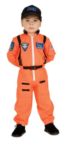 Child's Astronaut Costume Size Small (4-6)