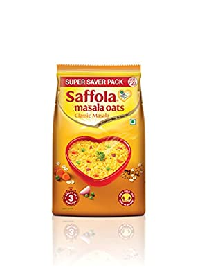 Saffola Oats (Masala Classic oats, 400 Gram) by Marico