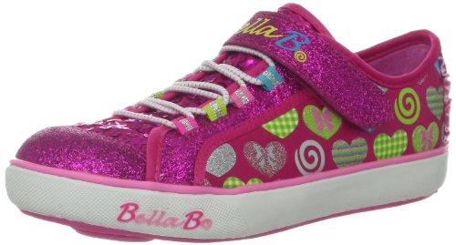 Skechers Girls Curtsies Sugarspin Pink Low-Top 82042L 2 UK, 34 EU