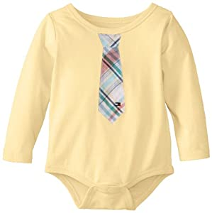 Tommy Hilfiger Baby-Boys Infant Davion Bodysuit with Tie by Tommy Hilfiger