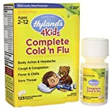 Hyland's Complete Cold and Flu 4 Kids -- 125 Quick Dissolve Tablets