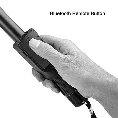 bluetooth selfie stick accmor tm 50 extendable handheld monopod with. Black Bedroom Furniture Sets. Home Design Ideas