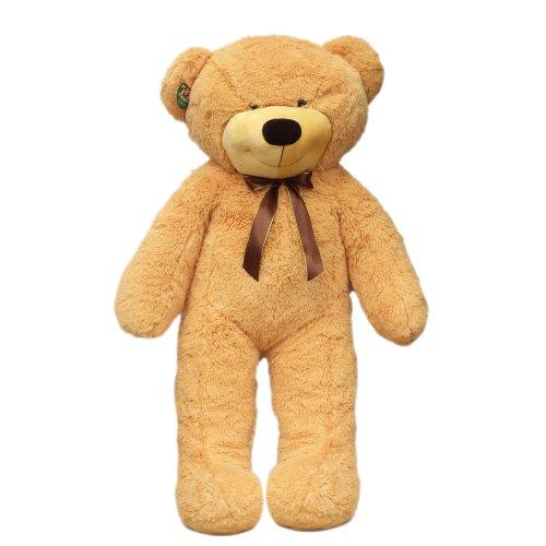可爱宝贝超大棕熊 1.2米图片