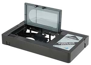 HQ VHS-C Adapter - Adaptador de cinta VHS-C, negro