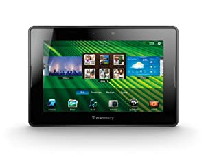 BlackBerry PlayBook Tablet 64 GB (17,8 cm (7 Zoll) Display, Touchscreen, 3 MP Kamera vorne, 5 MP Kamera hinten)