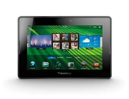 BlackBerry BlackBerry PlayBook Tablet 16 GB (17,8 cm (7 Zoll) Display, Touchscreen, 3 MP Kamera vorne, 5 MP Kamera hinten)