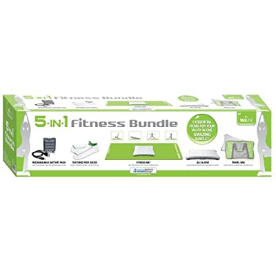 Nintendo Wii Fit 5-in-1 bundle fitness, wii balance board
