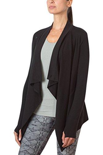 MPG Julianne Hough Women's Wisdom Oversized Cardigan L Black