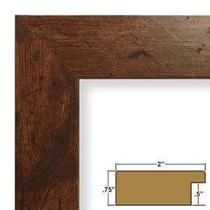 amazoncom 24x36 poster frame smooth wood grain finish