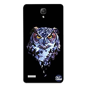 Designer Xiaomi Redmi Note Prime Nutcase Case Cover - Geometric Owl