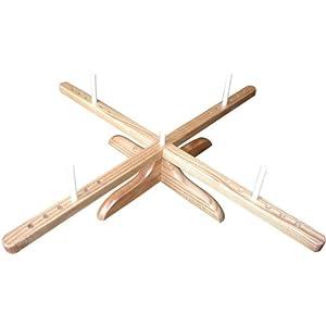 ChiaoGoo Yarn Swift Wooden Tabletop Unit 1098